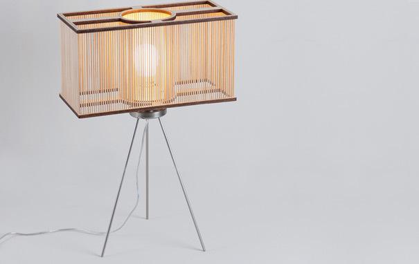 Photograph of Cuboid Table Light
