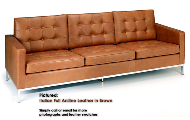 Photograph of Knoll 3 seater sofa