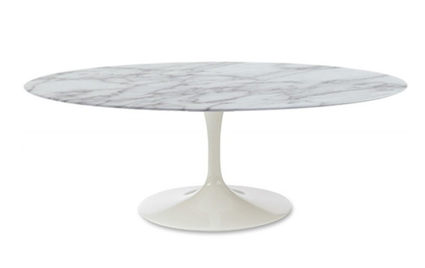 Tulip coffee tableTulip Marble Coffee Table - round and oval