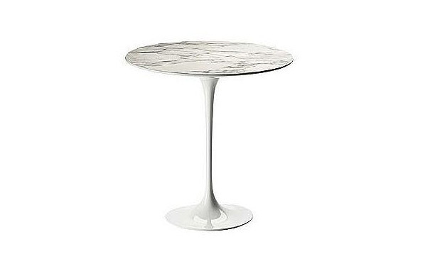 Photograph of Tulip Marble Side Table