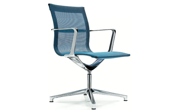 Photograph of ICF UNA Leather Low Backed Office Chairs