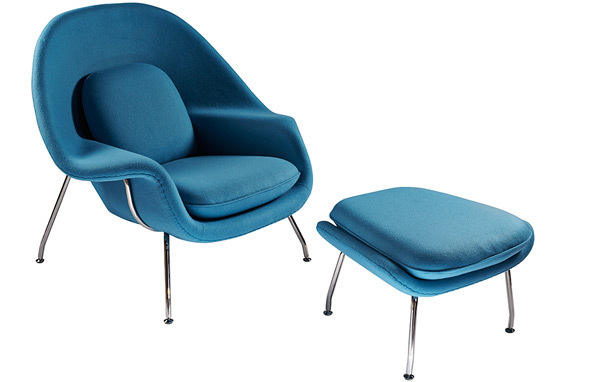 Womb chairWomb Chair and Ottoman