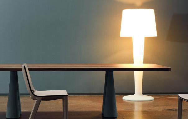 Photograph of Bonaldo XXLight Floor Light